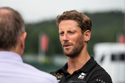 #8 Romain Grosjean, Rich Energy Haas F1 Team, Belgium, 2019