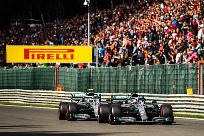 Lewis HAMILTON and Valtteri BOTTAS, Belgium/Spa, 2019