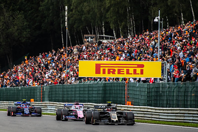 Kevin MAGNUSSEN, Sergio PEREZ and Pierre GASLY, Belgium/Spa, 201