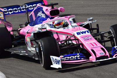 No.11 Sergio Perez.