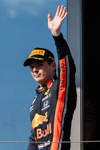 Max Verstappen, Aston Martin Red Bull Racing, Hungary, 2019