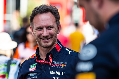 Christian Horner, Aston Martin Red Bull Racing, Hungary, 2019