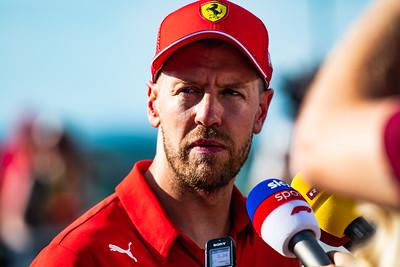 Sebastian Vettel, Scuderia Ferrari, Hungary, 2019