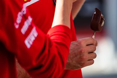 Sebastian Vettel's ice cream, Scuderia Ferrari, Hungary, 2019