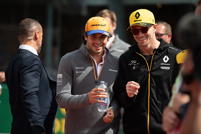 Carlos SAINZ and Nico Hulkenberg, Italy/Monza, 2019
