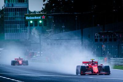 Charles LECLERC and Sebastian VETTEL, Italy/Monza, 2019
