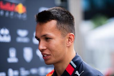 #23 Alexaner Albon, Aston Martin Red Bull Racing, Italy, 2019