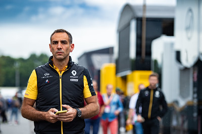 Cyril Abiteboul, Renault F1 Team, Italy, 2019