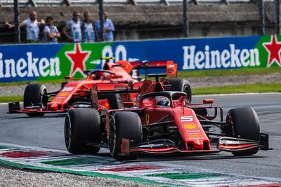Sebastian VETTEL and Charles LECLERC, Italy/Monza, 2019