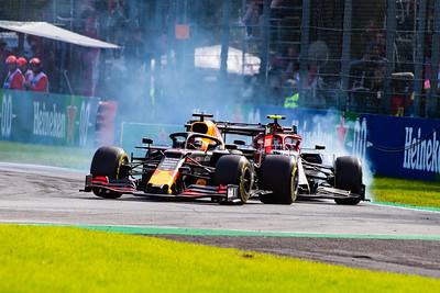 Max VERSTAPPEN and Antonio Giovinazzi, Italy/Monza, 2019