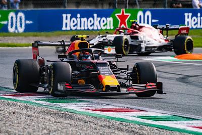Alexander ALBON and Antonio Giovinazzi, Italy/Monza, 2019