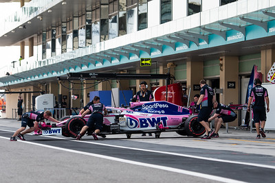 #11 Sergio Perez, SportPesa Racing Point F1 Team, UAE, 2019