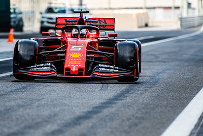 #5 Sebastian Vettel, Scuderia Ferrari, UAE, 2019