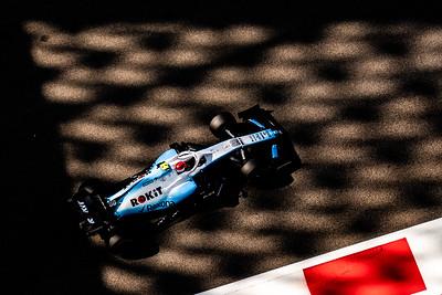 Robert Kubica, ROKiT Williams Racing , UAE, 2019
