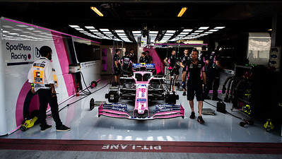 RP01, the car of Lance Stroll (CAN), Abu Dhabi, 2019