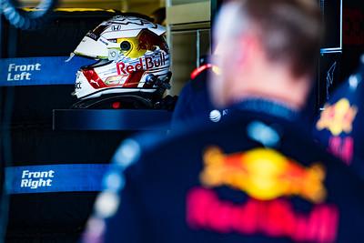 The helmet of Max Verstappen, Abu Dhabi, 2019