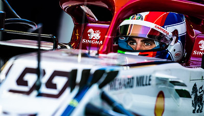 Antonio Giovinazzi, Alfa Romeo Racing, UAE, 2019