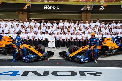 McLaren F1 Team, Abu Dhabi, 2019