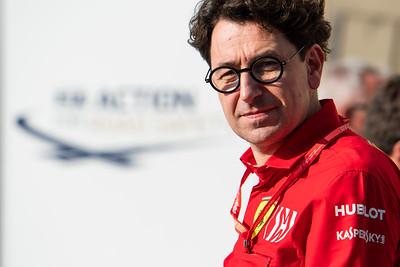 Mattia Binotto, Ferrari, Abu Dhabi, 2019