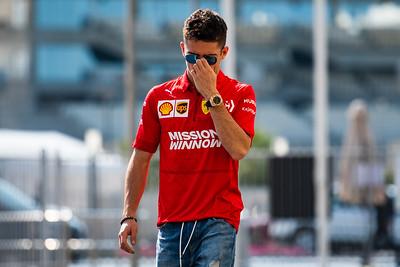 Charles Leclerc, Ferrari, Abu Dhabi 2019