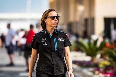 Claire Williams, Williams F1 Team, Abu Dhabi, 2019