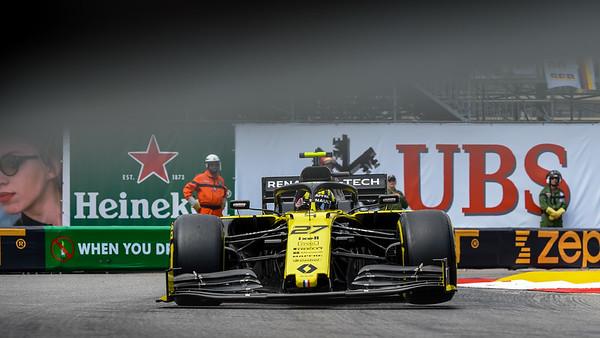 F1, 2019, Monaco GP, FP2