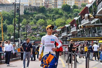 Lando Norris, McLaren, Monaco 2019