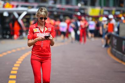 Britta Roeske, Ferrari, Monaco 2019