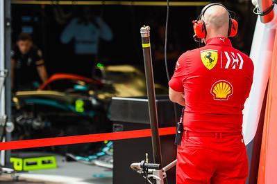 Jock Clear, Ferrari, Monaco 2019