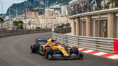 Monte Carlo/Monaco - 23/05/2019 - #4 Lando NORRIS (GBR, McLaren-Renault, MCL34) - during FP1 ahead of the 2019 Monaco Grand Prix
