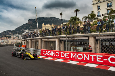 Monte Carlo/Monaco - 23/05/2019 - #3 Daniel RICCIARDO (AUS, Renault F1 Team, R.S. 19) - during FP1 ahead of the 2019 Monaco Grand Prix
