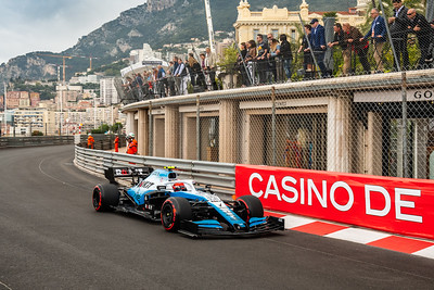 Monte Carlo/Monaco - 23/05/2019 - #88 Robert KUBICA (POL, Williams, FW42) - during FP1 ahead of the 2019 Monaco Grand Prix