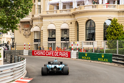 Monte Carlo/Monaco - 23/05/2019 - #63 George RUSSELL (GBR, Williams, FW42) - during FP1 ahead of the 2019 Monaco Grand Prix