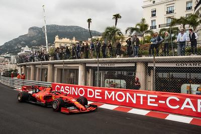 Monte Carlo/Monaco - 23/05/2019 - #16 Charles LECLERC (MCO, Ferrari, SF90) during FP1 ahead of the 2019 Monaco Grand Prix