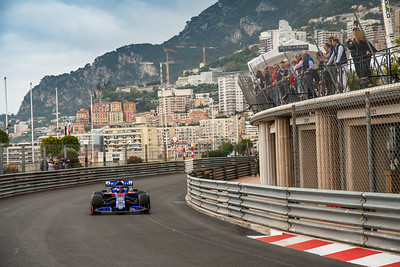 Monte Carlo/Monaco - 23/05/2019 - #26 Daniil KVYAT (RUS, Toro Rosso HONDA, STR14) during FP1 ahead of the 2019 Monaco Grand Prix