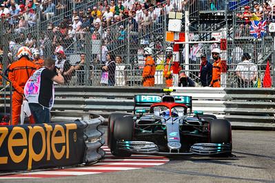 Valtteri Bottas, Qualifying, Monaco 2019