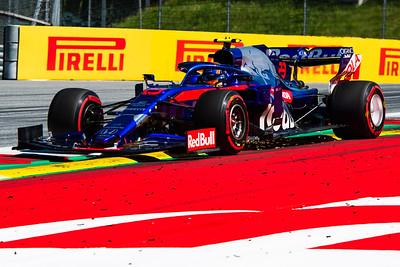 Alexaner Albon, Scuderia Toro Rosso, Austria, 2019