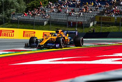 #55 Carlos SAINZ (SPA, McLaren-Renault, MCL34), Austria 2019