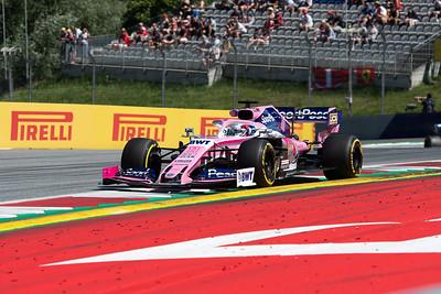 #11 Sergio Perez, SportPesa Racing Point F1 Team, Austria, 2019