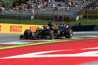 #8 Romain Grosjean, Rich Energy Haas F1 Team, Austria, 2019