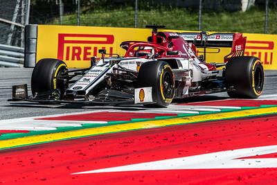 #7 Kimi Raikkonen, Alfa Romeo Racing, Austria, 2019