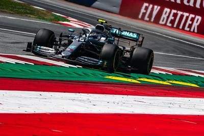 #77 Valtteri Bottas (FIN, Mercedes, W10), Austria 2019