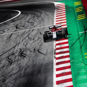 #7 Kimi Räikkönen (FIN, Alfa Romeo, C38)
