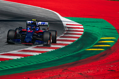 #23 Alex Albon (THAI, Toro Rosso HONDA, STR14)