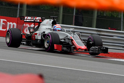 No.8 Romain Grosjean.