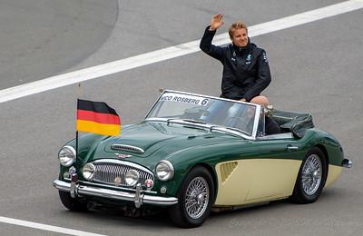 No.6 Nico Rosberg.