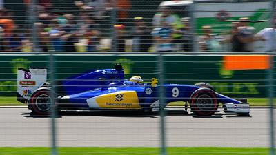 No.9 Marcus Ericsson.