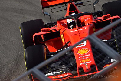 No.5 Sebastian Vettel.