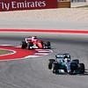 Vettel chasing Hamilton