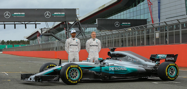 Mercedes AMG Petronas Launch